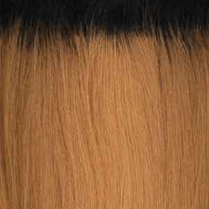Milkyway Human Hair Blended (Single Pack) - Weaves OT27 Shake-N-Go Milky Wavy Organique Mastermix Weave - STRAIGHT 24