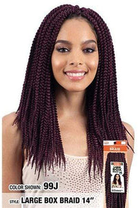 Model Model Box Braid 1 Model Model Glance Braid Box Braid - GB103 Large Box Braid 14""
