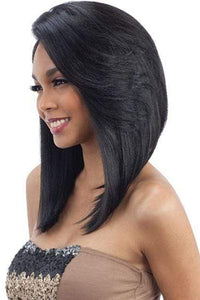 Model Model Free Part Lace Wigs 1 Model Model Cozy Cap Synthetic Lace Front Wig - CL 001