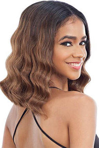 Model Model Free Part Lace Wigs 1 Model Model Synthetic Lace Front Wig - EDGES ON POINT 702
