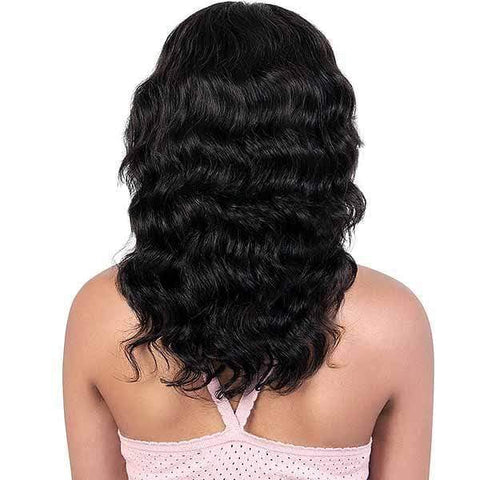 Motown Tress 100% Human Hair Lace Wigs NATURAL DARK Motown Tress 100% Persian Virgin Remy Spin Deep Part Lace Wig - HPL. SPIN50
