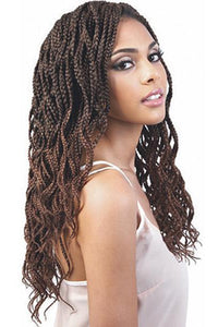 Motown Tress Box Braid 1 [3 pack deal] Motown Tress - Angels - 2X Feather Lite Wavy Box Braid 20""