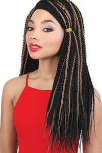 Motown Tress Crochet Braid Motown Tress True Crochet Senegal Twist Braid - CST.MAX20 7pack 20""