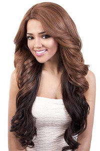 Motown Tress Deep Lace Part Full Wigs 1 Motown Tress C-Curve Deep Lace Part Wig - DP. PAULA