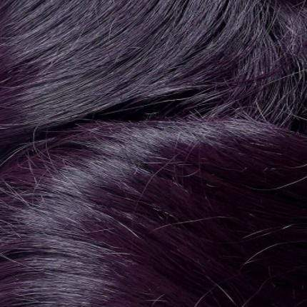 Motown Tress Deep Part Lace Wigs DARK VIOLET Motown Tress Synthetic Hair Deep Part Super Glam Let's Lace Wig - L. FANITA