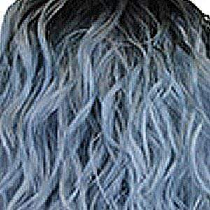 Motown Tress Deep Part Lace Wigs RT1B/BLSV Motown Tress Deep Part Swiss Lace Front Wig - LSDP FARA
