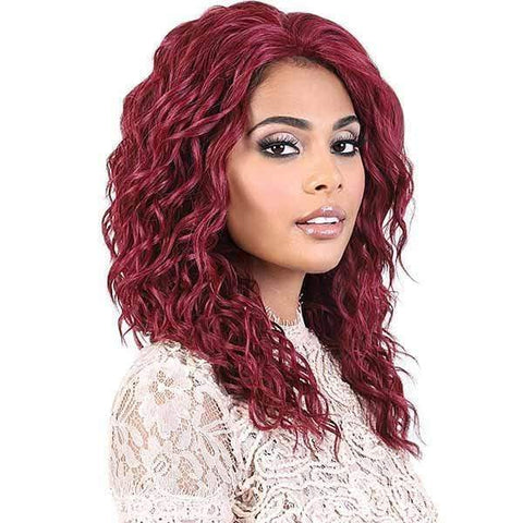 Motown Tress Ear-To-Ear Lace Wigs 1 Motown Tress Let's Lace Deep Part Synthetic Swiss Lace Front Wig - L. DOLLY