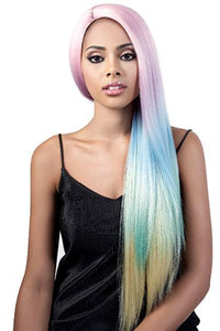 Motown Tress Ear-To-Ear Lace Wigs BLACK ROSE Motown Tress Let's Lace Synthetic Lace Front Wig - L SORBET