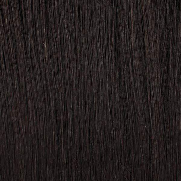 Motown Tress Free Part Lace Wigs 1B Motown Tress Let's Lace Zig Zag 4 Way Lace Part Synthetic Swiss Lace Wig - LZX MEGAN