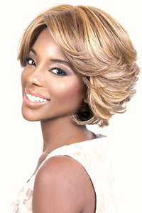 Motown Tress Synthetic Wigs 1 Motown Tress Synthetic Curlable Wig - BARBIE
