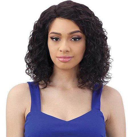 Naked 100% Human Hair Wigs Shake-N-Go Naked 100% Brazilian Natural Human Hair Premium Lace Part Wig - DALE