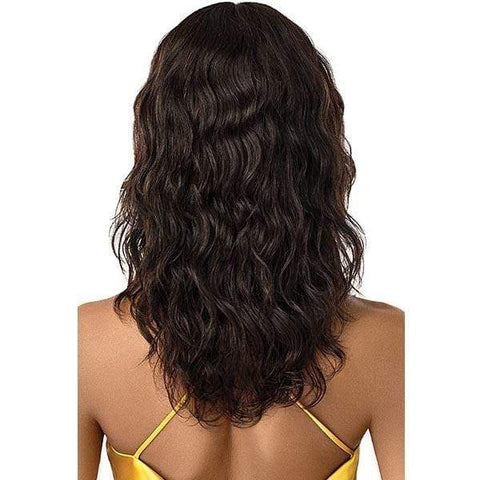 Outre Mytresses Gold Label 100% Unprocessed Human Hair Lace Front Wig - NATURAL BODY 20-22""