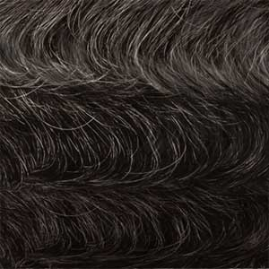 Outre 100% Human Hair Wigs OM280/34/44 Outre 100% Human Hair Fab & Fly Gray Glamour Wig - VERONICA