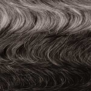 Outre 100% Human Hair Wigs OM34/44/51 Outre 100% Human Hair Fab & Fly Gray Glamour Wig - HARRIET