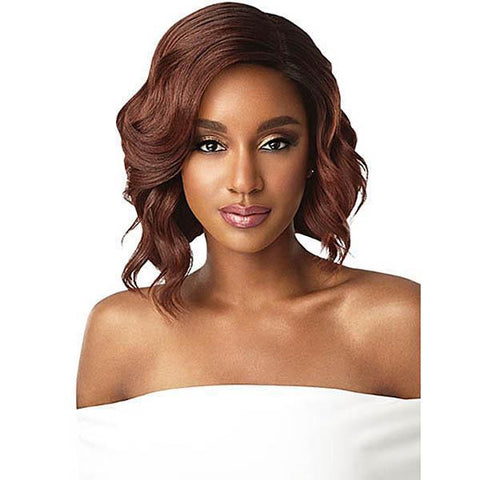 "Outre Deep Part Lace Wigs 1 Outre Synthetic 5"" Deep L-Part Swiss Lace Front Wig - TINASHE"