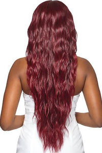 "Outre Deep Part Lace Wigs 1 Outre Synthetic 6"" Deep Part Swiss Lace Front Wig - HALLE"