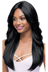 Outre Deep Part Lace Wigs 1 Outre Synthetic I-Part Swiss Lace Front Wig - JASMINE