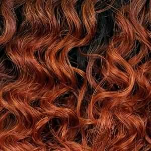 Outre Deep Part Lace Wigs DRCPOR Outre Synthetic I-Part Swiss Lace Front Wig - PHOENIX