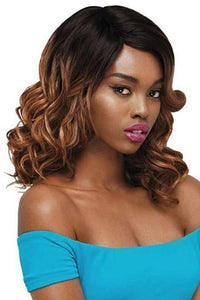 Outre Deep Part Wigs 1 Outre Synthetic Full Cap Wig Quick Weave Complete Cap - JOSIE