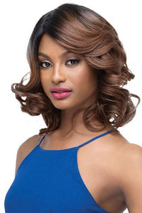Outre Deep Part Wigs 1 Outre Synthetic Full Cap Wig Quick Weave Complete Cap - JULIA