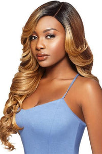 Outre Ear-To-Ear Lace Wigs 1 Outre Synthetic L-Part Swiss Lace Front Wig - DRAYA