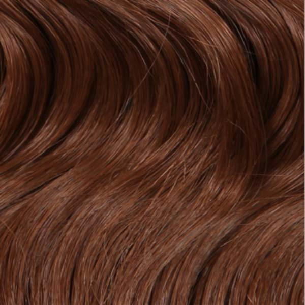 Outre Ear-To-Ear Lace Wigs DR30 Outre Blunt Cut Curly Swiss Lace I-Part Lace Front Wig - AUBREE