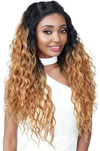Outre Free Part Lace Wigs 1 Outre Swiss U Vixen Double U Synthetic Hair Lace Front Wig - JORDYN