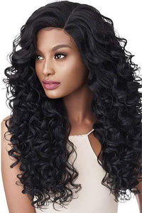 Outre Free Part Lace Wigs 1 Outre Swiss U Vixen Double U Synthetic Hair Lace Front Wig - RYLEE