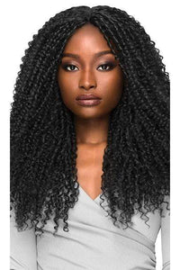 Outre Free Part Lace Wigs 1 Outre Synthetic Brazilian Boutique Lace Front Wig - CURLY