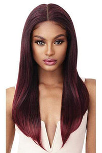 Outre Frontal Lace Wigs 1 Outre Perfect Hairline Synthetic Lace Front Wig - KARINA
