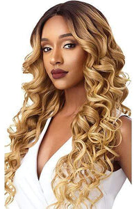 Outre Frontal Lace Wigs 1 Outre & Play Human Hair Optimix Lace Front Wig - JERICKA