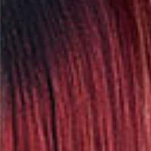 Outre Synthetic Wigs DR RED BURGUNDY Outre The Daily Wig Synthetic Hair Lace Part Wig - KYLA