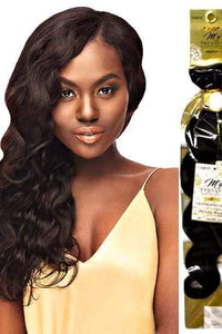 "Outre Unprocessed Bundle Hair 10"" / Natural Black Outre MyTresses Gold Label 100% Unprocessed Human Hair Weave Single Pack - NATURAL BODY 10""-22"""