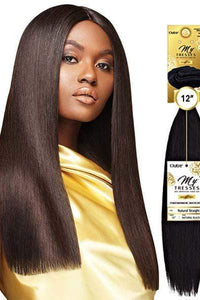 "Outre Unprocessed Bundle Hair 10"" / Natural Black Outre MyTresses Gold Label 100% Unprocessed Human Hair Weave Single Pack - NATURAL STRAIGHT 10""-22"""