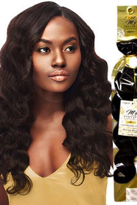 "Outre Unprocessed Bundle Hair 10"" / Natural Black Outre MyTresses Gold Label 100% Unprocessed Human Hair Weave Single Pack - OCEAN BODY 10""-22"""
