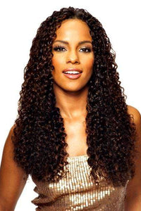 Saga 100% Human Hair (Multi Pack) 1 Saga Indian 100% Remy Human Hair Weave Wet & Wavy Whole in ONE - LONG DEEP 4PS