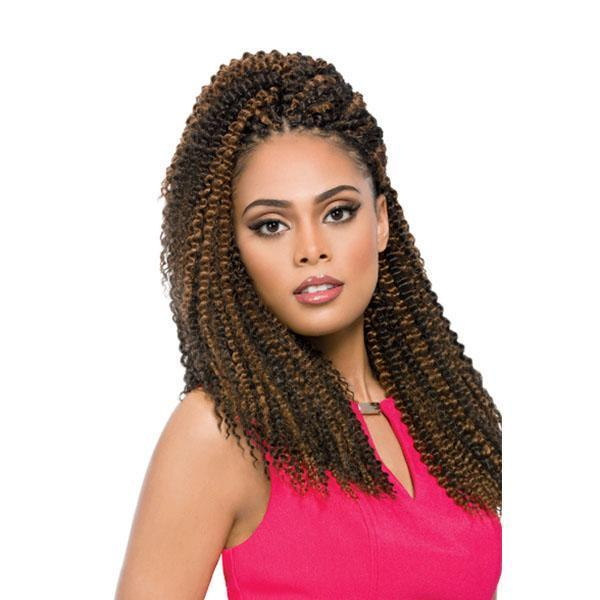 Sensationnel Crochet Braid 1 Sensationnel African Collection Jumbo / Xpression Braid - (4 PACK DEAL!) Aruba Wave 14""