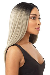 Sensationnel Deep Part Lace Wigs 1 Sensationnel Empress Natural Center Part Lace Front Wig - KIA