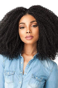 Sensationnel Ear-To-Ear Lace Wigs 1 Sensationnel Empress Curls Kinks & CO Textured Synthetic Lace Front Wig - GAME CHANGER