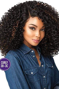 Sensationnel Ear-To-Ear Lace Wigs 1 Sensationnel Empress Curls Kinks & CO Textured Synthetic Lace Front Wig - SHOW STOPPER