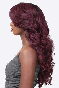 Sensationnel Ear-To-Ear Lace Wigs 1 Sensationnel Empress Feather & Flare Lace Wig - Adriana
