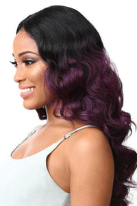 Sensationnel Ear-To-Ear Lace Wigs 1 Sensationnel Empress Synthetic Lace Parting Wig - Dee