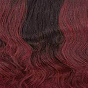 Sensationnel Ear-To-Ear Lace Wigs MP/WINE Sensationnel Shear Muse Synthetic Hair Empress Lace Front Wig - KANESHA