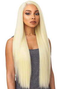 Sensationnel Free Part Lace Wigs 1 Sensationnel Boutique Bundle Stocking Cap Quality Custom Lace Wig - 6 PART SLEEK STRAIGHT