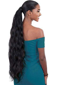 Shake N Go Ponytail Shake-N-Go Organique Mastermix Synthetic Pony Pro Ponytail - BODY WAVE 32""