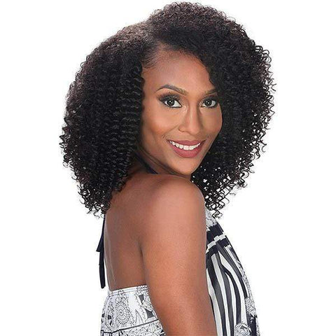 "So Good Shop 100% Human Hair (Multi Pack) - Weaves Black / 12"" Zury Sis Naturali Star 100% Human Hair Clip On 9pcs Weave - 3C CURLY"
