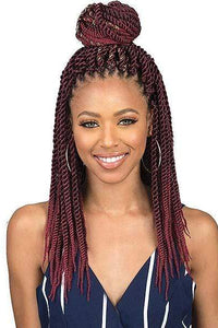 So Good Shop Box Braid 1 Bobbi Boss African Roots Collection Crochet Braid - BOMBA SENEGAL TWIST 18""