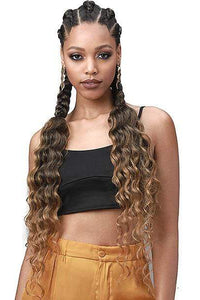 So Good Shop Crochet Braid 1 Bobbi Boss Synthetic Pre-Feathered Braid - 3X KING TIPS OCEAN WAVE 28""