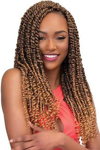So Good Shop Crochet Braid Janet Collection Nala Tress Synthetic Braid - PASSION TWIST BRAID 18""