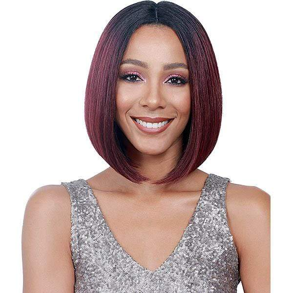 So Good Shop Deep Part Lace Wigs Bobbi Boss Lace Front Wig Ear-To-Ear Lace Wig - MLF138 APRIL